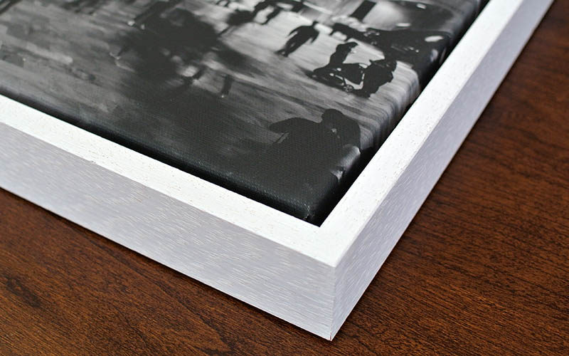Canvas Tray Frame for Stretched Canvas Print