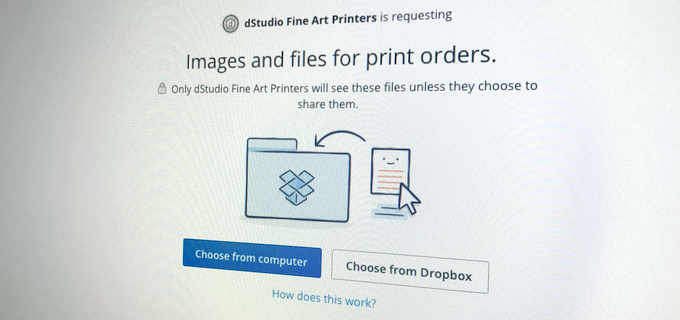 How to send us images via email, Dropbox and WeTransfer.com